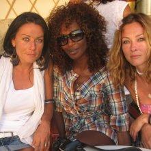 Youma Dakite insieme alle altre protagoniste del programma Sailing Woman