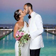 Alicia Keys al suo matrimonio
