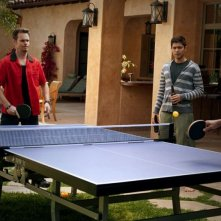 Kevin Dillon, Adrian Grenier e John Stamos nell'episodio Tequila Sunrise di Entourage