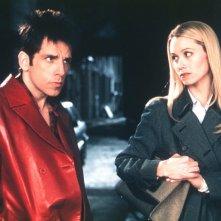Ben Stiller e Christine Taylor in una scena del film Zoolander