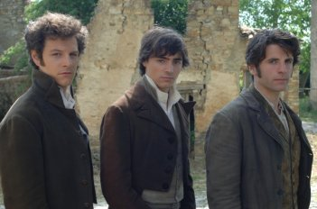 Noi credevamo di Mario Martone. I tre rivoluzionari: da sinistra, Andrea Bosca (Angelo giovane), Edoardo Natoli (Domenico giovane) e Luigi Pisani (Salvatore giovane).