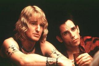 Owen Wilson e Ben Stiller in una scena di Zoolander