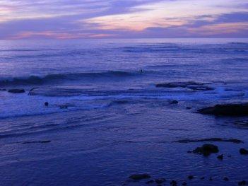 Una splendida immagine scattata sul set americano de La Polinesia è sotto casa, a Bird Rock - La Jolla Ca