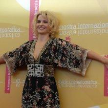 Juliette Binoche a Venezia 2006 per presentare Quelques jours en Septembre