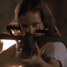 Juliette Lewis in una scena del film Dal tramonto all\'alba