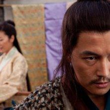 Jung Woo Sung in una scena di Reign of Assassins