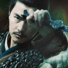 Jung Woo Sung in una sequenza di Reign of Assassins