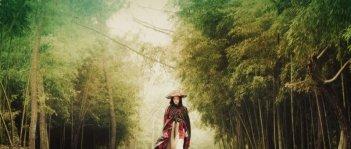 Kelly Lin in una scena del film Reign of Assassins