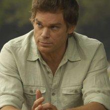 Michael C. Hall in un momento dell'episodio Rimorsi di Dexter