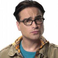 Johnny Galecki in una foto promozionale della stagione 4 di The Big Bang Theory