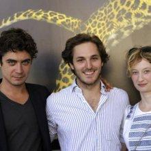 Locarno 2010: Riccardo Scamarcio con Ferdinando Cito Filomarino e Alba Rohrwacher