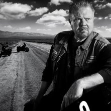 William Lucking in una foto promozionale della stagione 3 di Sons of Anarchy