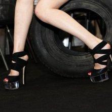 Locarno 2010: Roxane Mesquida insieme al pneumatico killer di Rubber