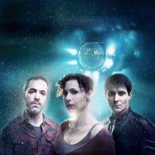Goran Visnjic, James Nesbitt e Minnie Driver in una immagine promozionale di The Deep