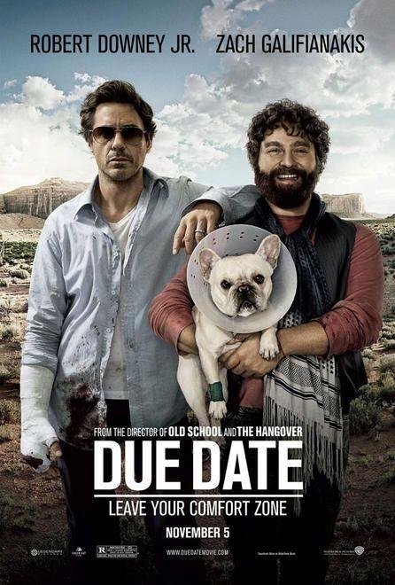La Locandina Del Film Due Date 171281