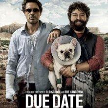 La locandina del film Due Date