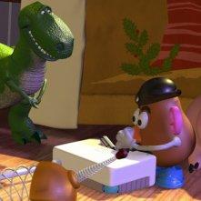 Alcuni protagonisti del film d\'animazione Toy Story