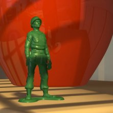 Il sergente in una scena del film d\'animazione Toy Story (1995)