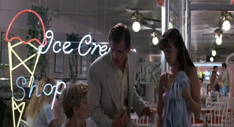 Nick Nolte Con Jessica Lange E Juliette Lewis In Una Scena Di Cape Fear Il Promontorio Della Paura 171396