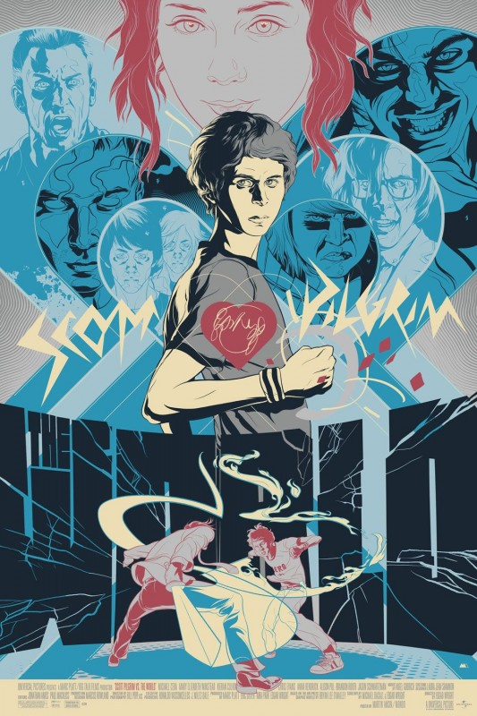 Edizione Speciale Del Poster Di Scott Pilgrim Vs The World 171424