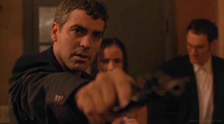 George Clooney Con Juliette Lewis E Quentin Tarantino In Una Scena Di Dal Tramonto All Alba 171417