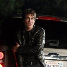 Ian Somerhalder in un momento dell'episodio Punto di svolta di Vampire Diaries