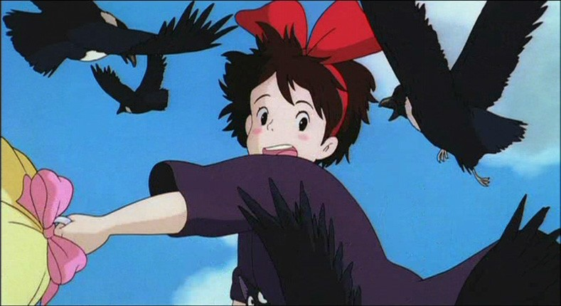 Kiki Attaccata Dagli Uccelli In Una Scena Del Film D Animazione Kiki Consegne A Domicilio 171600
