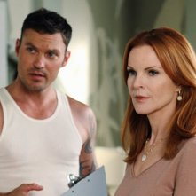 La prima foto di Brian Austin Green in Desperate Housewives