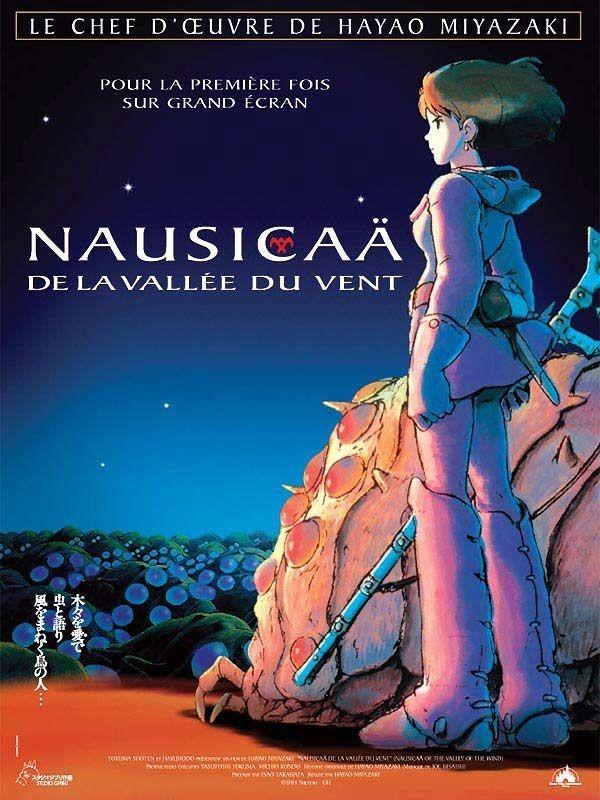 Locandina Francese Del Film D Animazione Nausicaa Della Valle Del Vento 171562