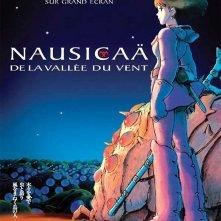 Locandina francese del film d'animazione Nausicaa della valle del vento