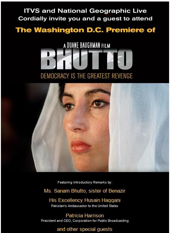 Locandina Promozionale Di Bhutto 171613