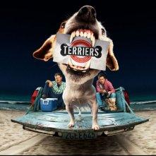 Poster con sviluppo orizzontale della serie Terriers