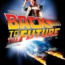 Poster USA per la re-release del 25 anniversario di Back to the Future (Ritorno al futuro)