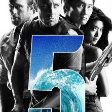 Un poster della nuova serie Hawaii Five-0