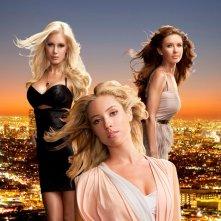Heidi Montag, Kristin Cavallari e Audrina Patridge in una foto promo per la stagione finale di The Hills