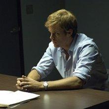 Michael C. Hall in una scena della premiere della stagione 5 di Dexter