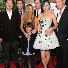 Jason Bateman, Jennifer Aniston, Thomas Robinson, Juliette Lewis e Patrick Wilson alla premiere di The Switch, Agosto 2010