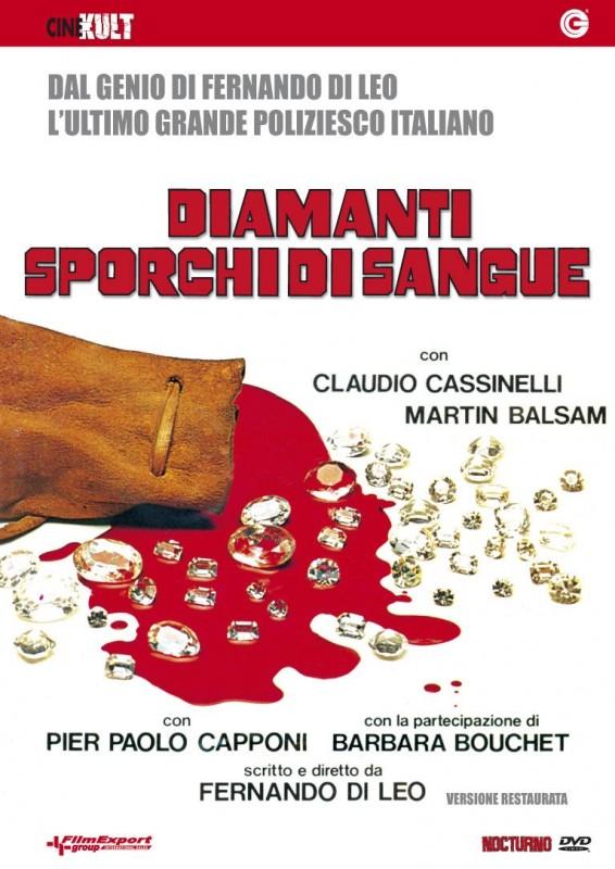 La Copertina Di Diamanti Sporchi Di Sangue Dvd 171895
