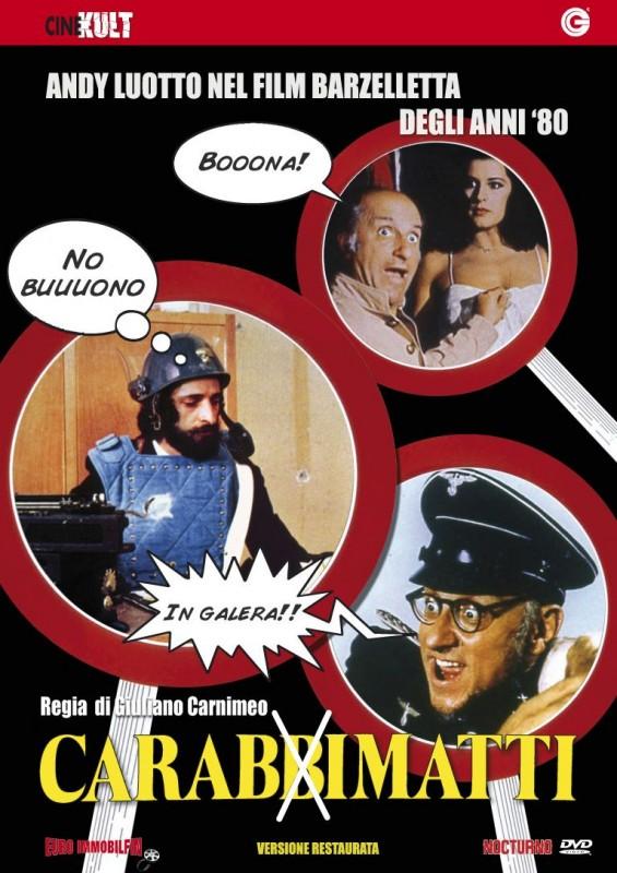 La Copertina Di I Carabbimatti Dvd 171894