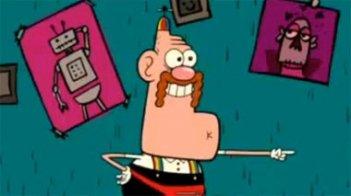 Un'immagine del corto d'animazione Uncle Grandpa