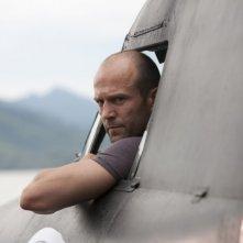 Jason Statham in una scena di The Expendables