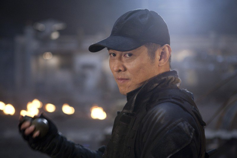 Jet Li In Una Scena Del Film The Expendables 172003