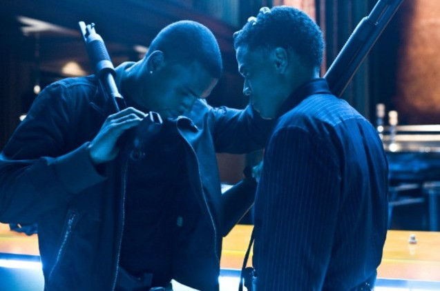 Michael Ealy E Chris Brown In Una Scena Del Film Takers 171933