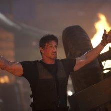 Sylvester Stallone, protagonista di The Expendables