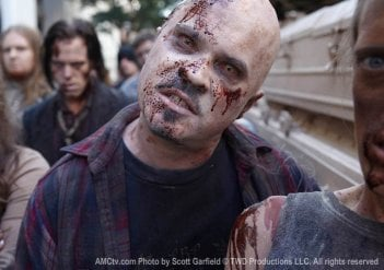 Una nuova immagine dalla serie AMC The Walking Dead