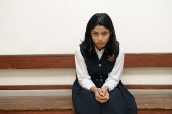 Freida Pinto, protagonista del drammatico Miral