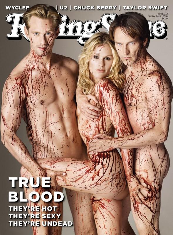 Il Trio Protagonista Di True Blood Sulla Copertina Di Rolling Stone Settembre 2010 172067