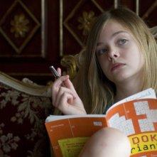 La piccola Elle Fanning nel film Somewhere