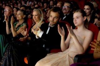 Stephen Dorff e Elle Fanning nel film Somewhere