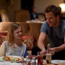 Stephen Dorff e Elle Fanning, protagonisti del film Somewhere